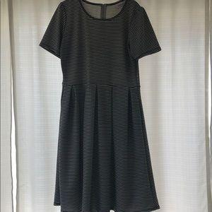 XL black and white LLR Amelia Dress